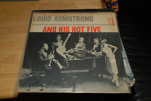 LOUIS-ARMSTRONG-AND-HIS-HOT-FIVE-LP-VOL-1-CHILI-PRESS-SOUTH-AMERICA-VG-VINYL