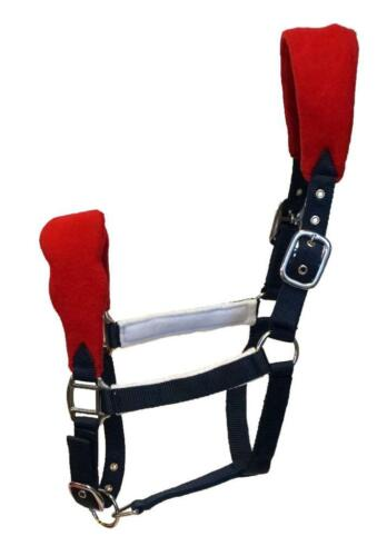 Wholesale Lot-HNP Depot Fancy Red White /& Blue padded Halters Lot of 5//10//15