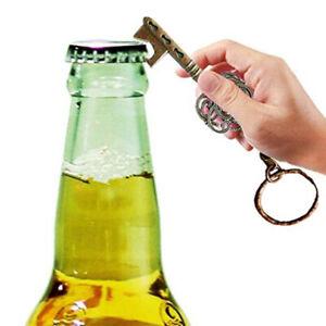 Schluesselform-Bier-Flaschenoeffner-Retro-Metall-Multifunktions-SchluesselanhaenTPI
