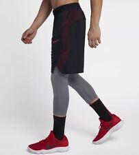 "1052b4113b7d item 2 Nike Dri-Fit Elite Men s 9"" Basketball Shorts 891768-011 Black Red  Size XXL New -Nike Dri-Fit Elite Men s 9"" Basketball Shorts 891768-011  Black Red ..."