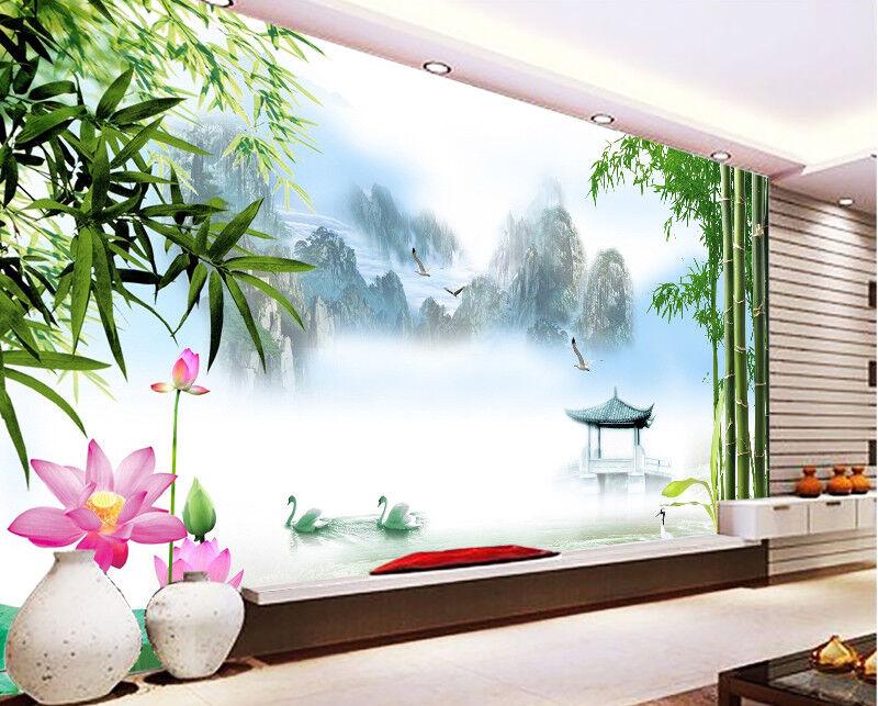 3D Bambuswald Landschaft 8893 Tapete Wandgemälde Tapeten Bild Familie DE DE DE Jenny   Neuankömmling    Gewinnen Sie das Lob der Kunden     83f6fc