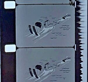 Advertising-16mm-Film-Reel-ORAGEN-Consumer-Drug-Corporation-Water-Skier-C04