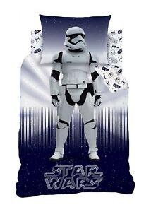 Copripiumino Star Wars.Ufficiale Disney Star Wars Singolo Set Copripiumino Da Bambino Blu