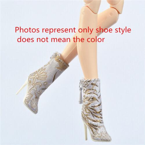 Pink Shoes for Fashion royalty FR2 Poppy parker Ob obitsu 23 25 27cm body doll