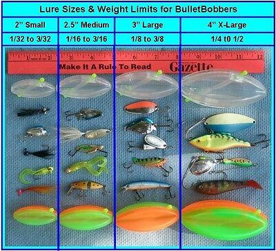 "2/"" BulletBobber steerable mini Side Planer Board Fishing Floats Trolling InLine"