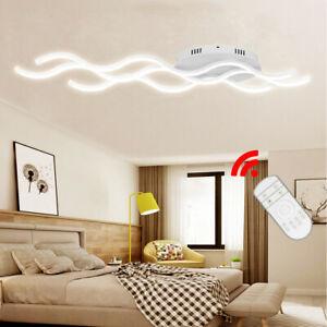 Details zu 30W Dimmbar LED Deckenleuchte Modern Design Küche Deckenlampe  Flurlampe Acryl