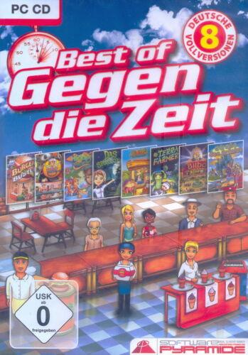 1 von 1 - PC CD + Best of Gegen die Zeit + 8 deutsche Vollversionen + Abenteuer + Win 8
