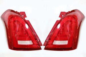 LED-Tail-Light-Assembly-For-2004-2012-Suzuki-Swift-Sport-Red-Lens-Fully-LED