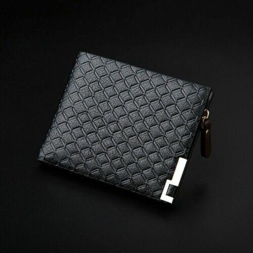 UK Men Luxury Leather Soft Wallet Credit Card Holder Wallet  Black Brown Nice