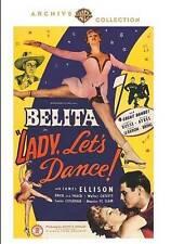 LADY, LET'S DANCE!~1944 MINT DVD~BELITA FRICK AND FRACK JAMES ELLISON