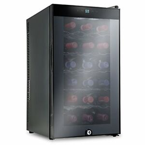 Ivation-18-Bottle-Thermoelectric-Red-And-White-Wine-Cooler-Chiller-w-Lock
