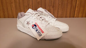 c711bed30410 NEW  Vintage Converse Courtstar 1000 Wide Width White Shoes Mens 7.5 ...