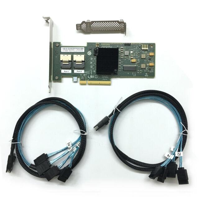 IBM ServeRaid M1015 46M0861 LSI SAS9220-8i RAID + SAS SFF-8087 to 4x SATA Cable