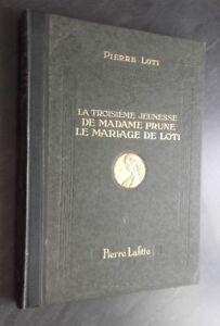 La 3EME Juvenil De Señora Ciruela P. Loti P.Lafitte 1923 París Demuestra