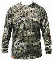 Guy Harvey Strike Camo Performance Fishing Shirt - Pick Size-free Ship