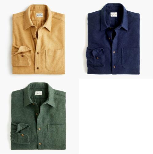 Small Medium K4001 Jcrew Brushed midweight flannel shirt
