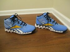 88aeed926fd item 5 Very Lightly Used Worn Sz 13 Reebok Zigtech Zig Pro Future Shoes  Blue White Gold -Very Lightly Used Worn Sz 13 Reebok Zigtech Zig Pro Future  Shoes ...