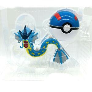 Gyarados Action Figure Pokemon Deformation Doll Poké Ball Child Kid Toy New Kids