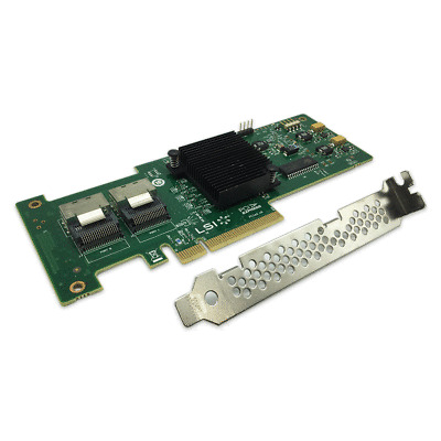 New IT Mode LSI 9210-8i SAS SATA 8-port PCI-E 6Gb RAID Controller Card
