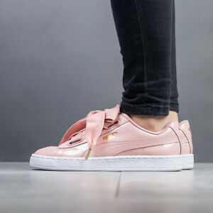 eddb4e7b4283 Image is loading WOMEN-039-S-SHOES-SNEAKERS-PUMA-BASKET-HEART-