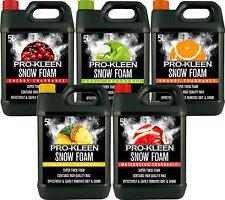 ProKleen Car Shampoo Snow Lance Foam Cleaning Wax Valet Showroom Gloss Shine