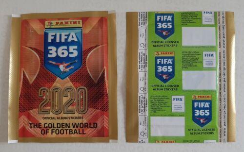 1X PACKET PANINI  FIFA 365 2019 2020 POCHETTE TUTE BUSTINA  GREEN PROMO VERSION