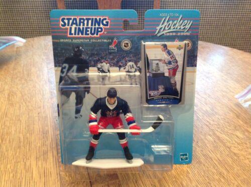 1999 Starting Lineup NHL Wayne Gretzky New York Rangers Hockey Kenner Slu