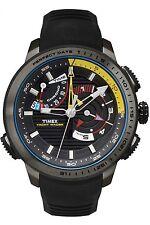 Timex Men's Intelligent Quartz TW2P44300 Black Rubber Analog Quartz Yacht Racer