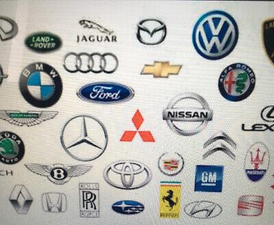 Jaguar garage service stamp