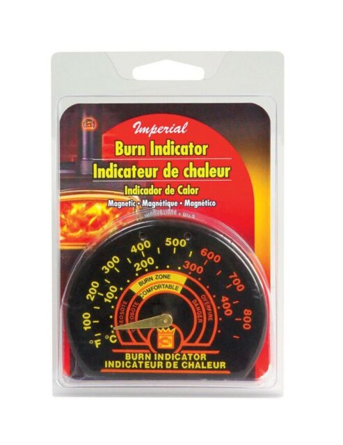 Imperial Manufacturing BM0135 Magnetic Stove Thermometer Burn Indicator
