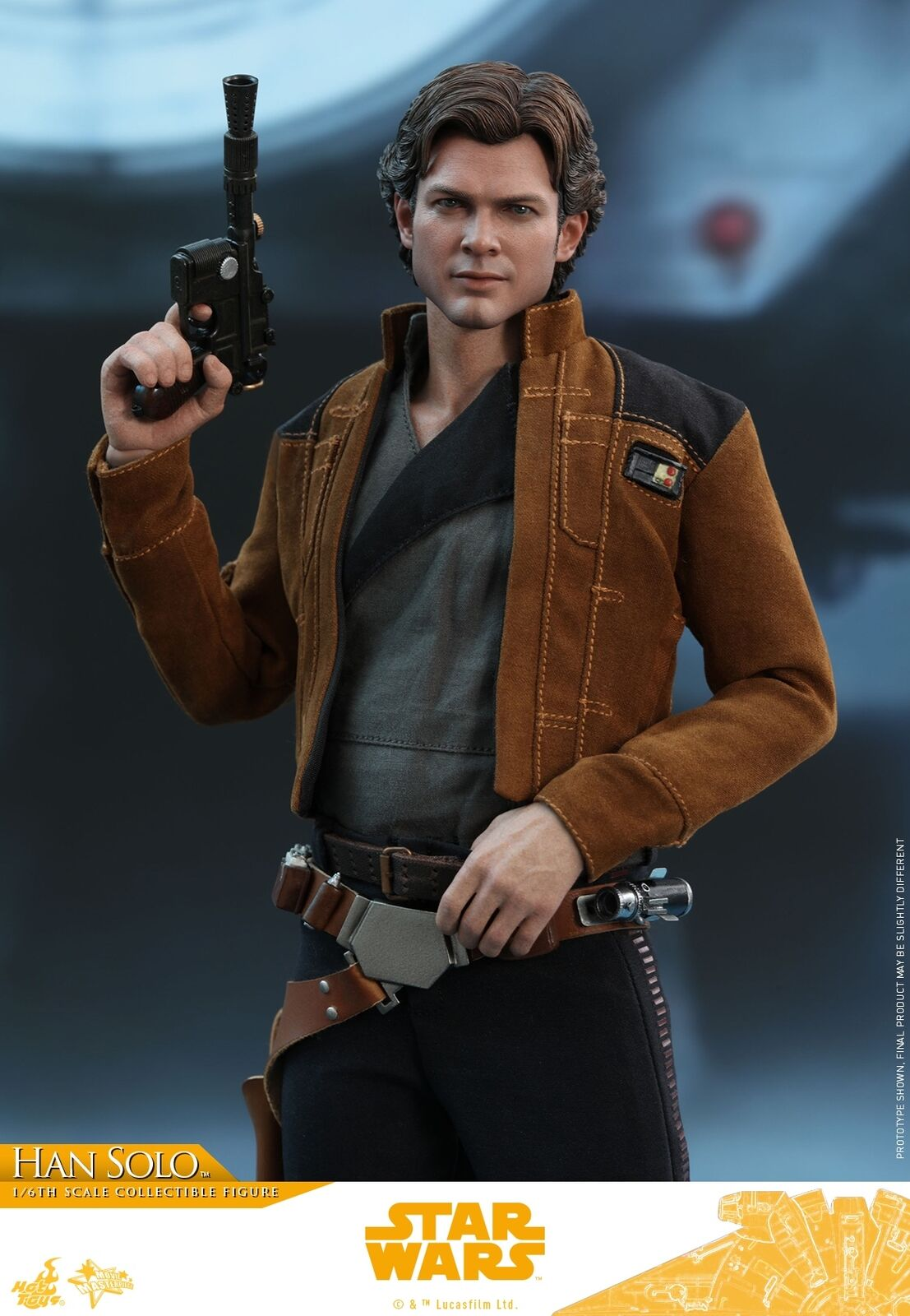 Hot Toys Toys Toys Solo  A Star Wars Story 1 6th scale Han Solo Collectible Figure MMS491 b3293d
