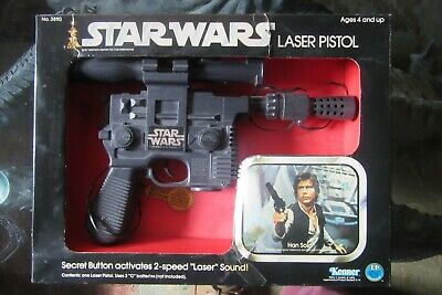 Prix Spécial Noir Han Solo GUN//Blaster très proche de Star Wars pour vintage