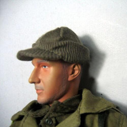 "1//6 World War II US Solider Woolen Hat Cap Model For 12/"" Action Figure Hot Toys"