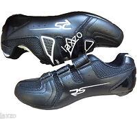 Riva Sport Shoe Black Shimano Spd Sl & Look Keo Road Cycling Bike Cycle