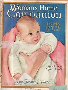 1926-Womans-Home-Companion-March-Harriet-Beecher-Stowe-II-Paulist-Fathers-Ford