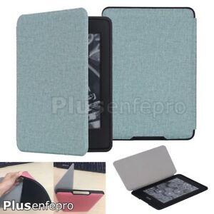 For-E-reader-Kindle-Paperwhite-1-2-3-Smart-Wake-Flip-Slim-Soft-Rubber-Case-Shell