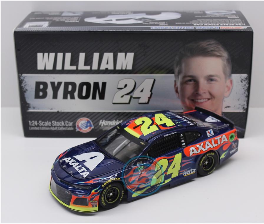 NEW NASCAR 2019 WILLIAM BYRON  24 AXALTA 1 24 CAR