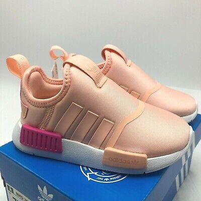 New Infant Adidas Originals Nmd 360 Td Pink Ee6357 Sz 5 10