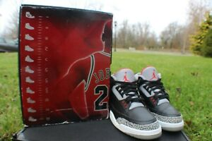 Air Jordan 3 Black Cement size 12   eBay
