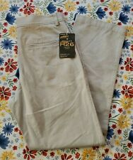 NEW or BLACK  All Sizes HAGGAR H26 CHINO PANTS STRETCH Straight Leg GRAY,TAN