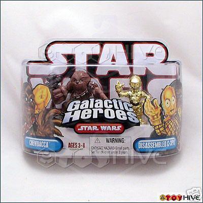 Star - wars - galaktischen helden chewbacca & zerlegt c3po
