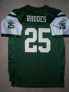 5fbff069 Details about REEBOK New York NY Jets KERRY RHODES nfl Jersey YOUTH KIDS  BOYS (m-medium)