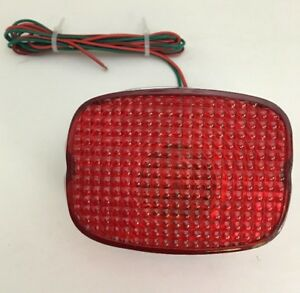 Details about Harley-Davidson Tail Light Lens,Bulb,Wiring Harness,& on