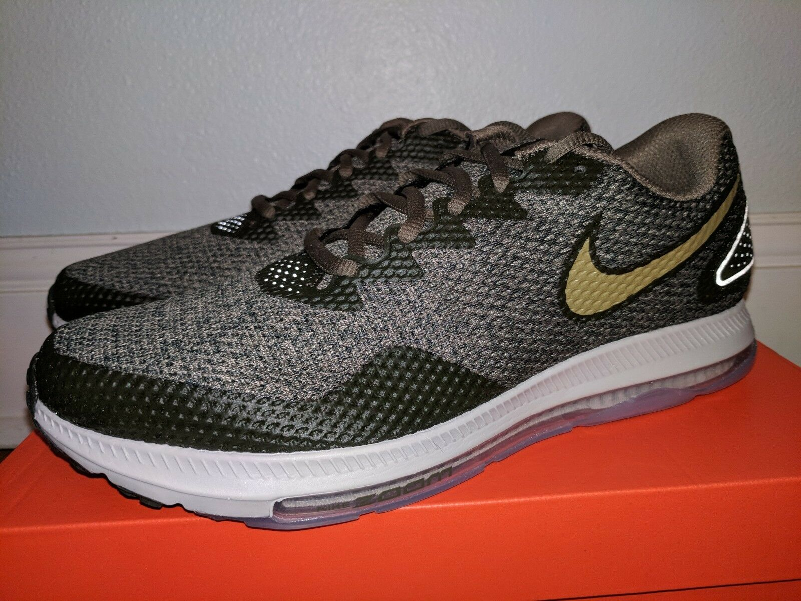 NIKE AIR ZOOM ALL OUT LOW 2 OLIVE/DESERT MOSS 10.5
