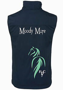 HEELS-DOWN-CLOTHING-034-MOODY-MARE-034-2-TONE-VEST-MANY-COLOURS-AND-SIZES