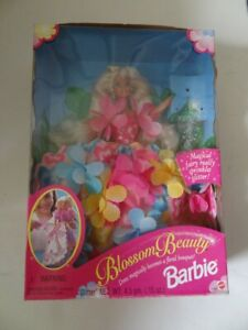 Barbie-Blossom-Beauty-w-Magical-Fairy-Doll-Mattel-1996-Vintage