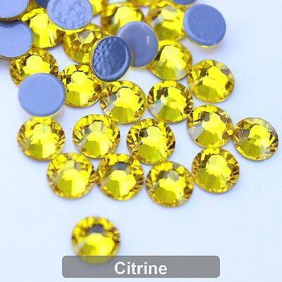 [Korean DMC] SS16-20 Iron On Hotfix Rhinestone Crystal FlatBack Grade AAA