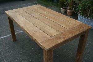 Teak Gartentisch 220 Cm Teak Mobel Massivholz Neu Teakholz Tische
