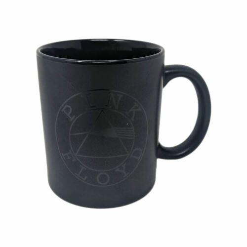Pink Floyd Logo Matt Black Coffee Mug Tea Cup - Boxed Music Gift