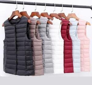 2020-Winter-vest-Women-Ultra-Light-Down-Jacket-White-Duck-Down-Slim-short-coat